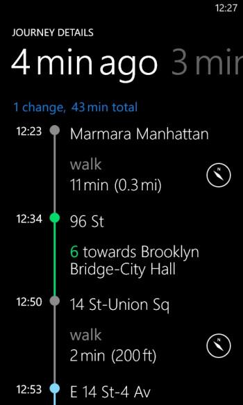 "Lumia exclusive ""Transport"" graduates from beta"
