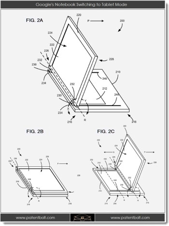 Does Google's patent for a hybrid tablet show the future merging of Android and Chrome OS?