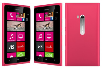Nokia Lumia 900 in pink
