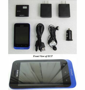 Nokia Xperia tipo, model ST21a