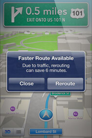 Screenshots from the new Apple Maps application for iOS 6