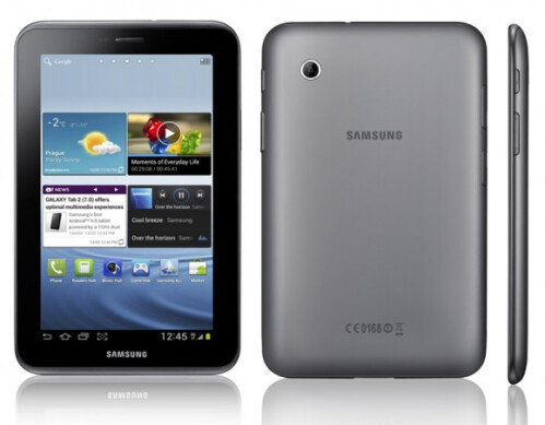 Samsung Galaxy Tab 2 7.0 - prices start from $250
