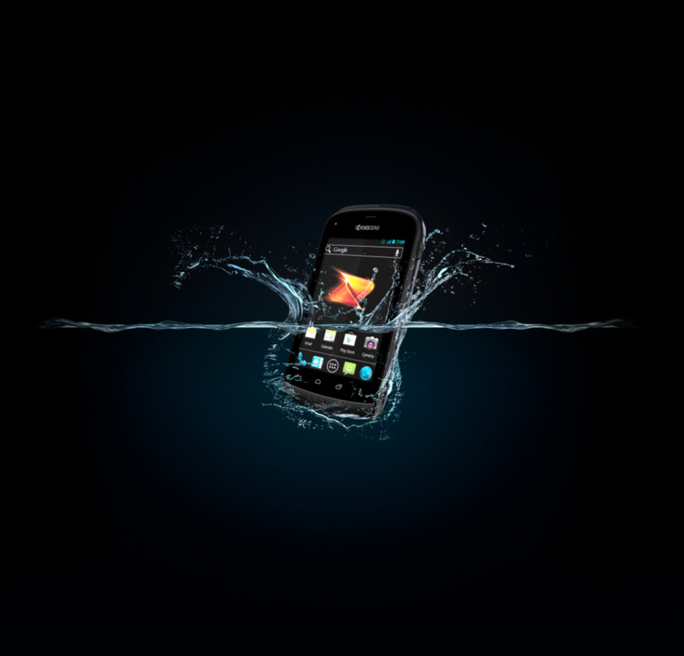 Rugged style Kyocera Hydro is