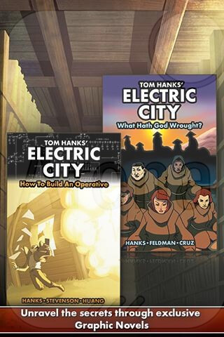 Tom Hanks' Electric City debuts on iOS and Android today