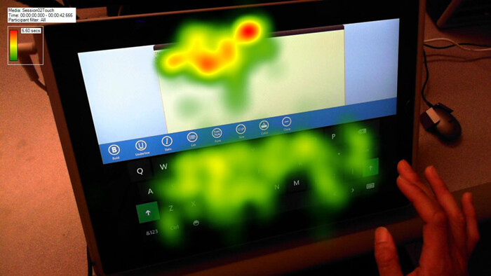 Our eyes move away from the keyboard as we type more - Microsoft explains how it designed the Windows 8 touch keyboard