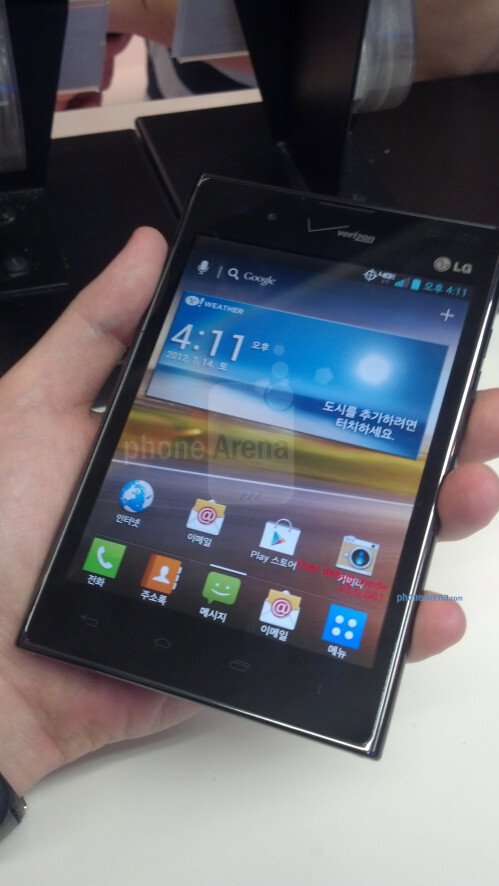 Verizon-branded LG Optimus Vu images