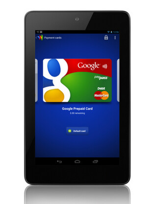 The Google Nexus 7 now has Google Wallet functionality