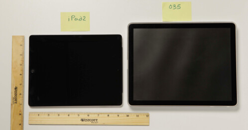 The humongous early iPad prototype now appears in color