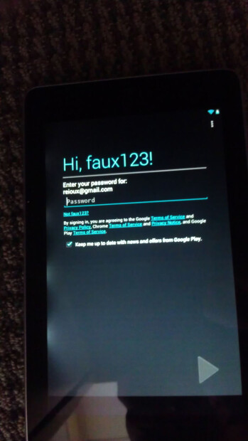The Google Nexus 7 and the light bleeding issue