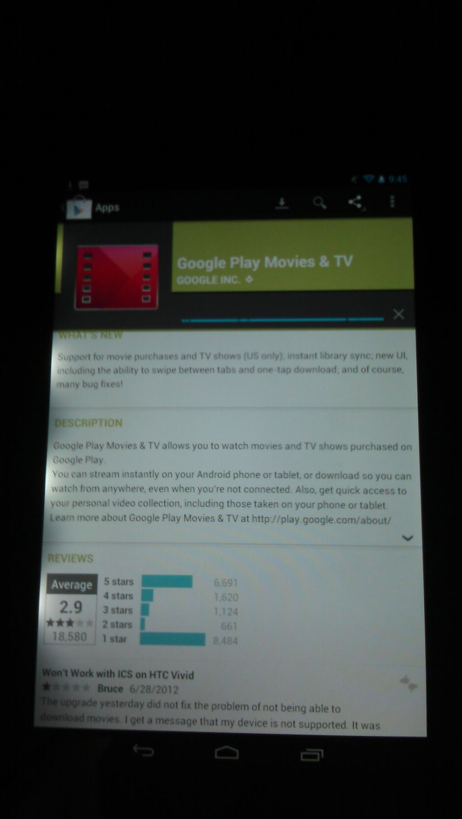 The Google Nexus 7 and the light bleeding issue - Google Nexus 7 light bleeding issue being reported