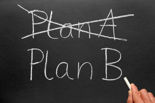 Do have a plan B