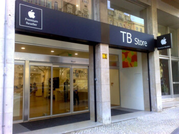 An Taboada & Barros store in Portugal where Apple devices are sold