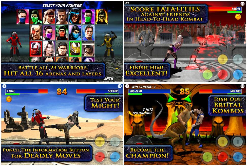 Игра драка mortal kombat 3 скачать для android.