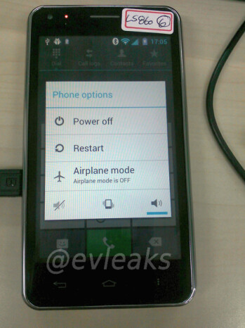 LG Cayenne photo leaks, running Ice Cream Sandwich, still bound for Sprint