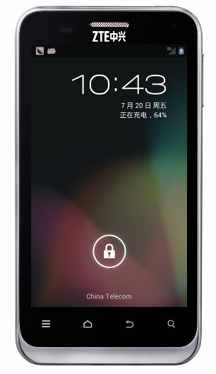 The unheralded ZTE N880E has been relaunched in China with Androide 4.1.1