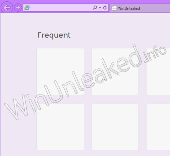 New screens leak from Windows 8 RTM, maybe mock Android?