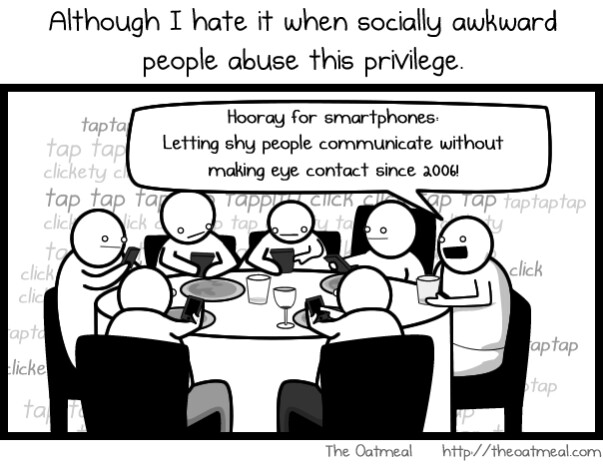 why we have a love  hate relationship with our smartphones  comic