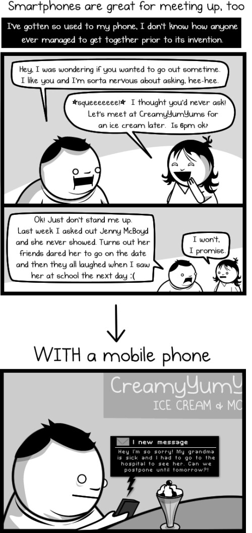 Why we have a love/hate relationship with our smartphones