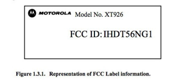 Label from FCC documents