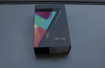 The box for the Google Nexus 7