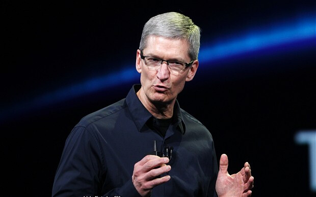 Apple CEO Tim Cook - Apple blames earnings miss on next Apple iPhone and weak economy