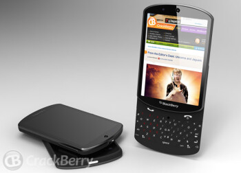 BlackBerry 10 slider concept looks pretty slick