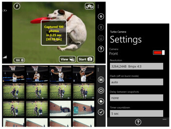 Turbo Camera for Windows Phone can shoot 30 photos per second, now on sale
