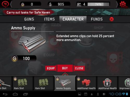 Dead Trigger screenshots