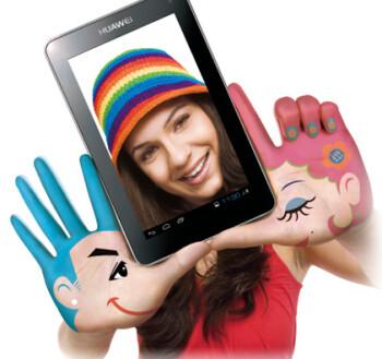 The Huawei MediaPad 7 Lite