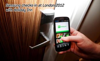 Unlock that Holiday Inn room door in style using a Samsung Galaxy S III