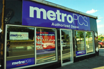 The omnipresent MetroPCS store