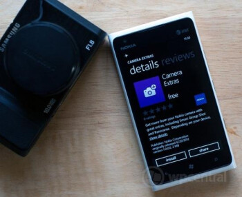 The Nokia Camera Extras app is rolling out now