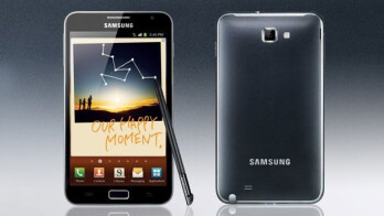 Taking part in the Opening Ceremony at the Summer Olympics, the Samsung Galaxy S III (L) and the Samsung GALAXY Note