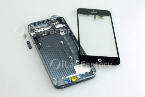 iPhone 5 body assembled