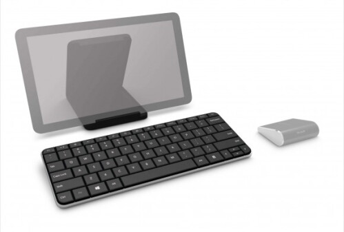 The Wedge mouse and keyboard combo