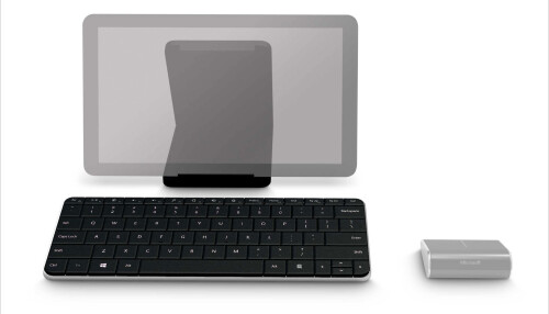 Wedge keyboard and mouse
