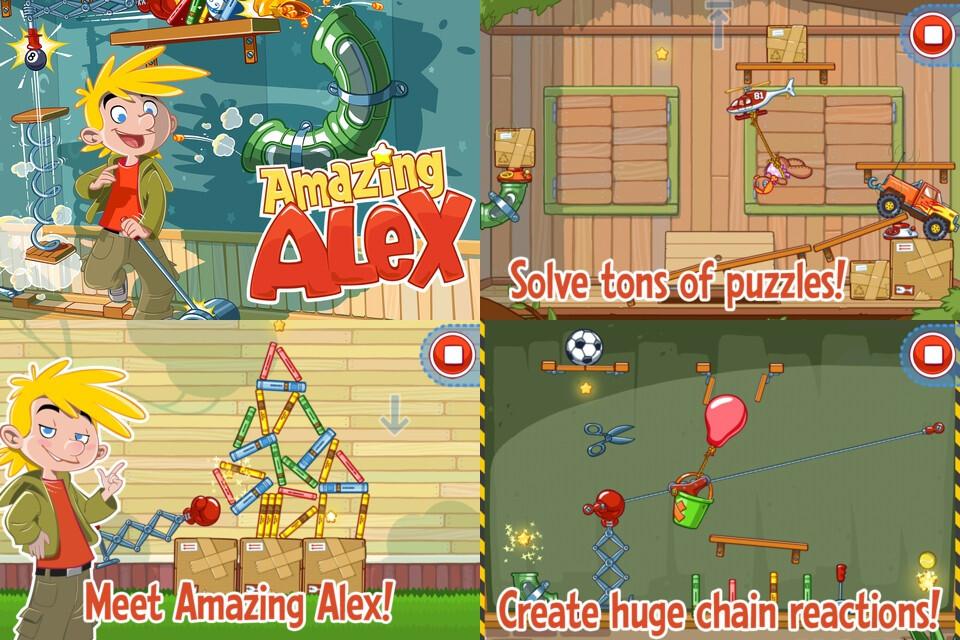 Amazing Alex (WP) Achievements