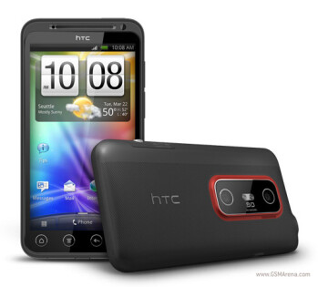 Just updated, the HTC EVO 3D