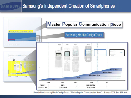 Here's the slideshow leak that might get Samsung into court contempt trouble