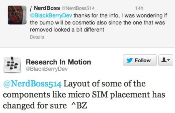The tweets that prove the existence of the BlackBerry 10 Dev Alpha B model
