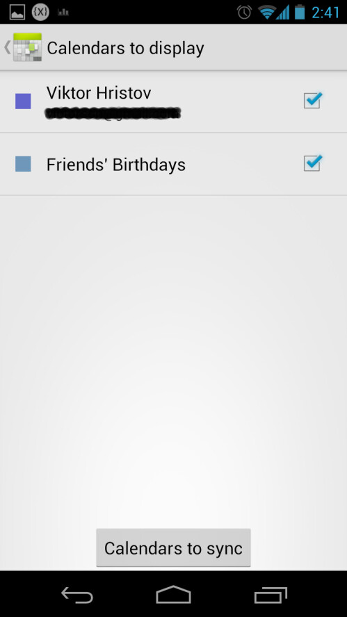 "Enable the ""Friends' Birthdays"" calendar"