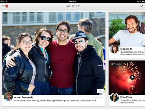 Google+ for iPad - Free