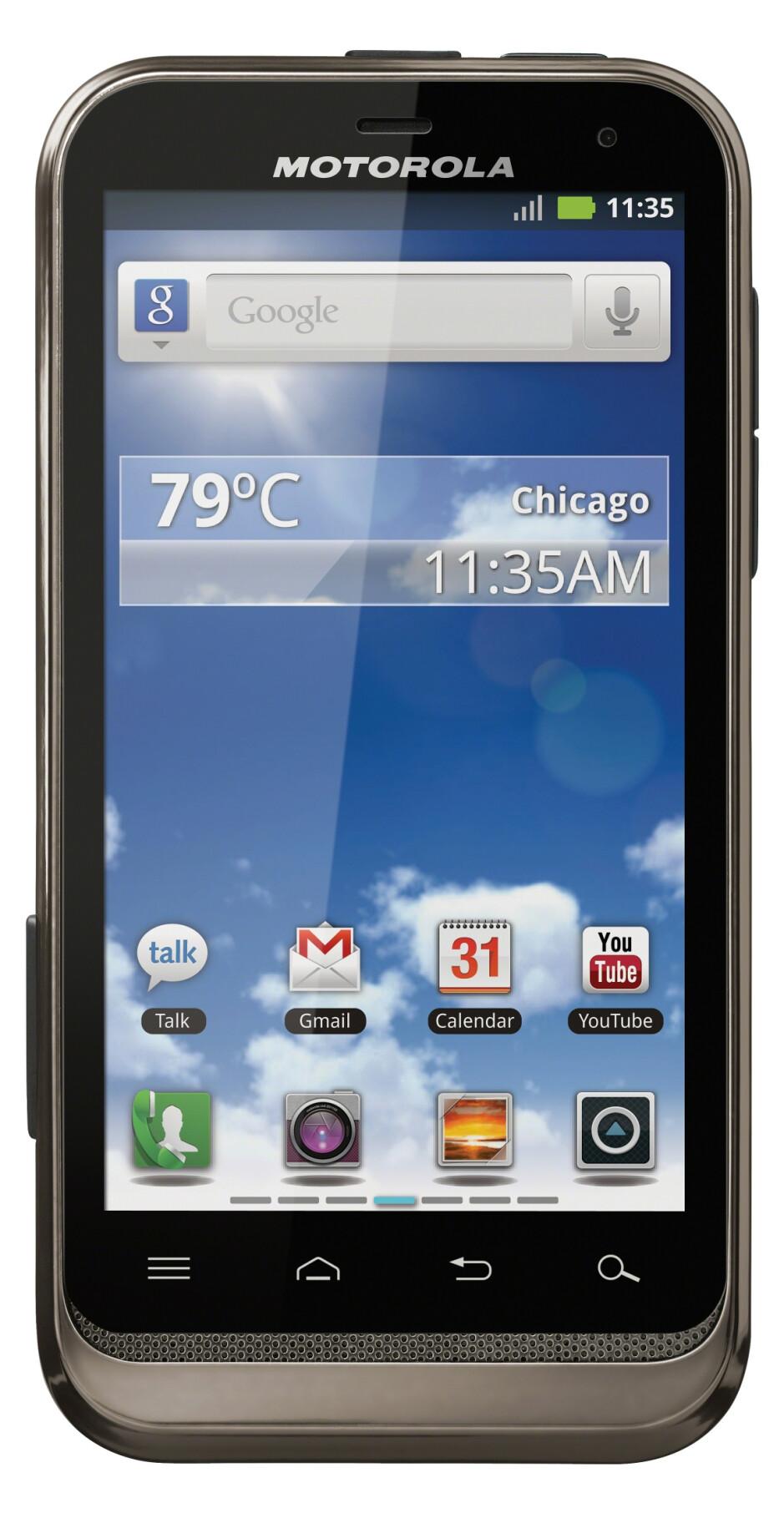 Motorola DEFY XT - Motorola intros the RAZR-like ELECTRIFY 2 and rugged DEFY XT for U.S. Cellular