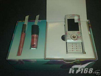Sony Ericsson first offered a bundle of a phone and... nail polish.