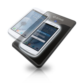 The Zens Samsung Galaxy S III charging kit will be out in September