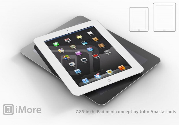 Concept drawing of iPad mini - Analyst sees Apple selling 40 million iPad minis in first year