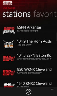 ESPN Radio launches on Lumia handsets