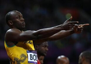 Bolting to an Olympic record - Fastest man in the world is a BlackBerry user