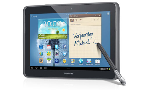 Samsung's Galaxy Note 10.1 launching across the globe this month