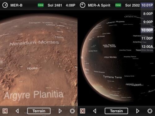 Mars Globe - iOS - Free